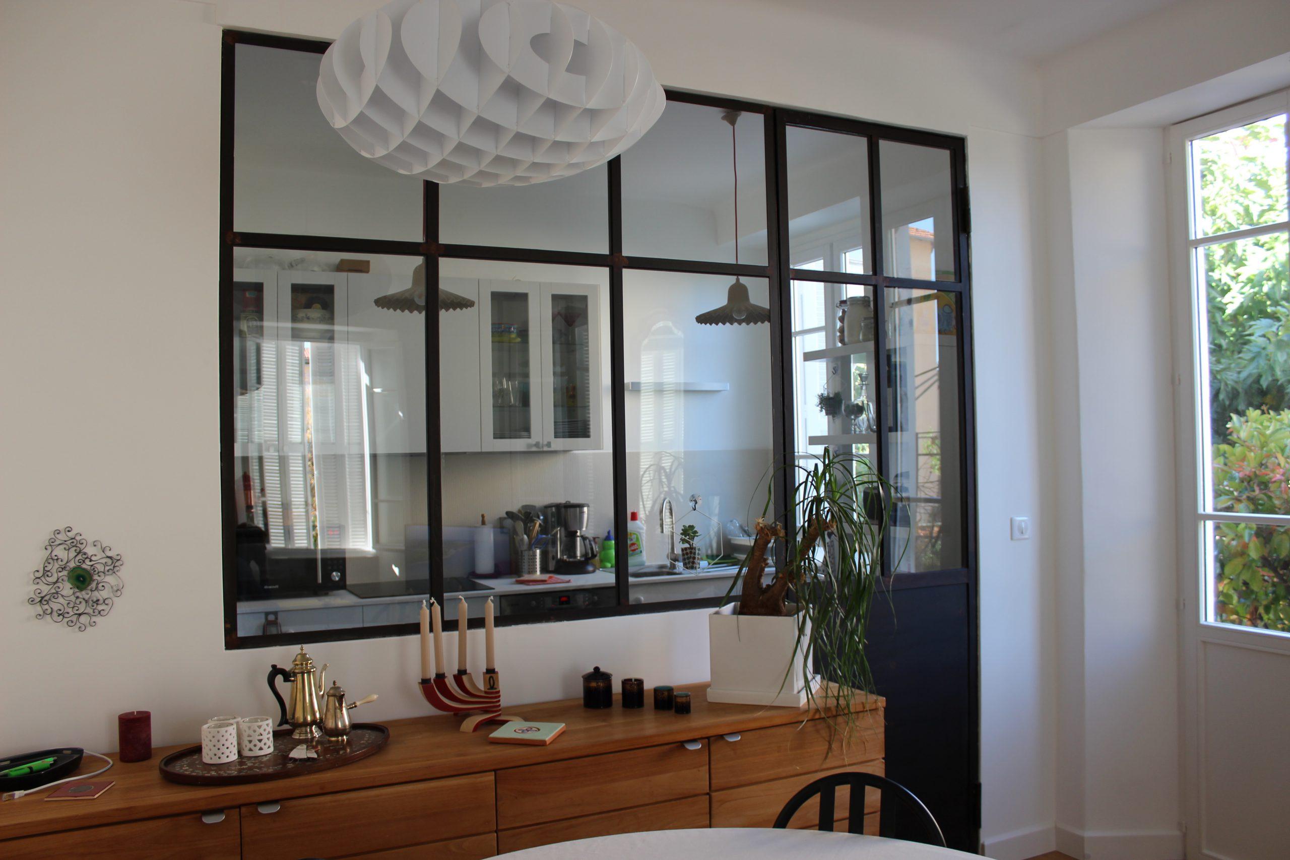 architecte salle à manger verrière