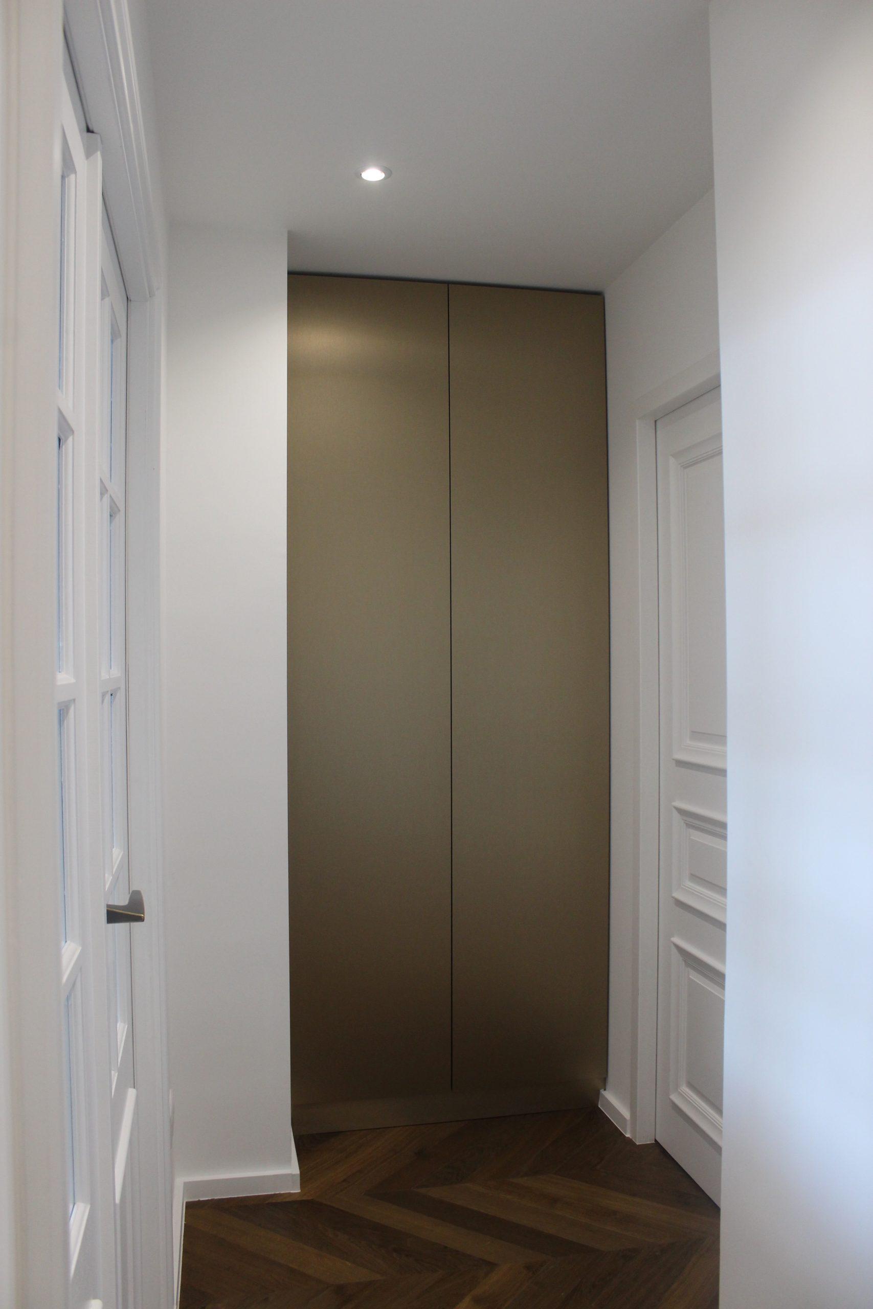 architecte couloir avec parquet