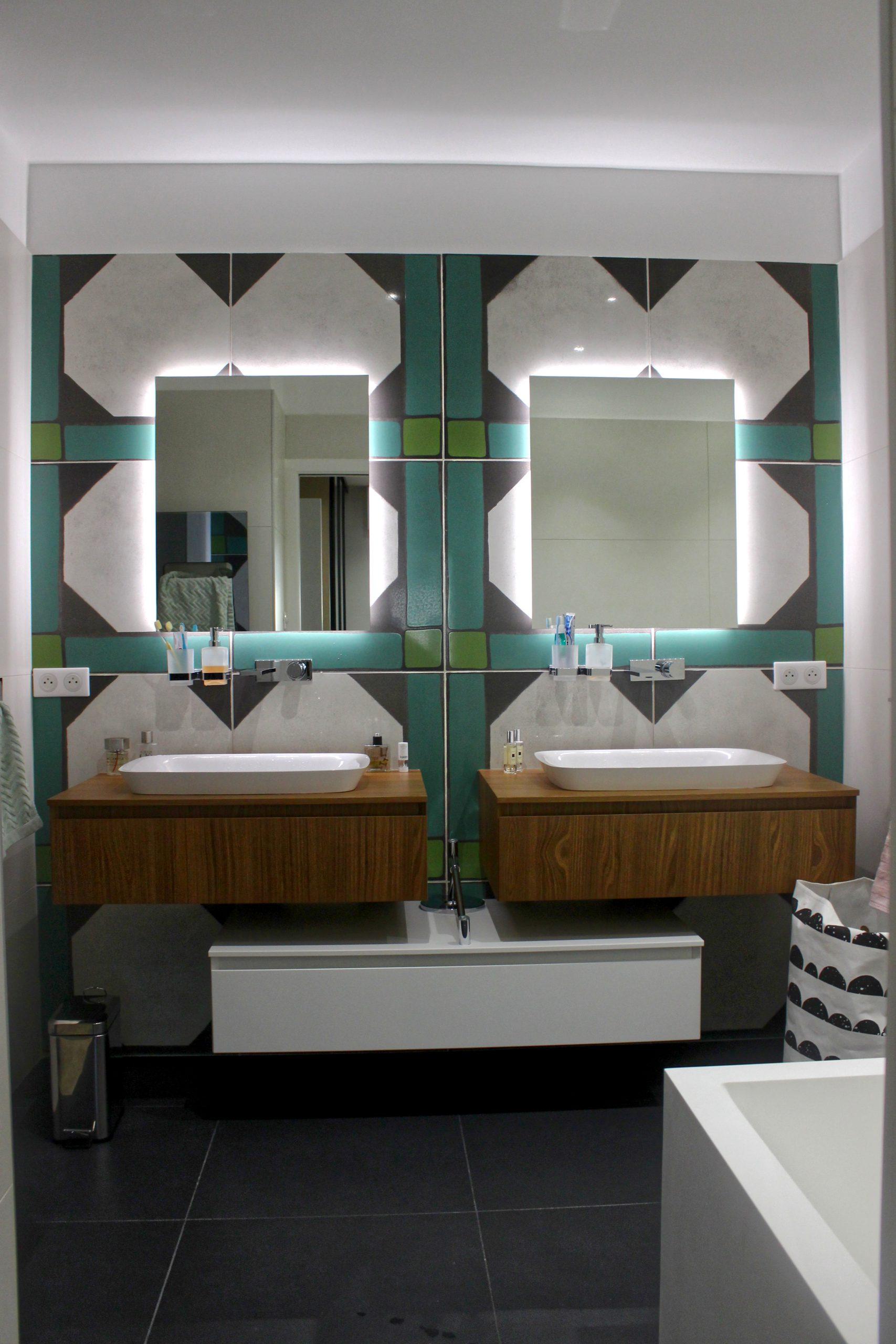 architecte salle de bain double vasques